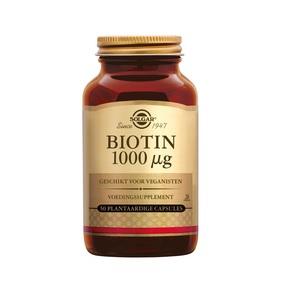 Solgar Biotin 1000 µg plantaardige capsules 50 Veg Caps