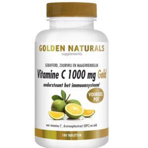 Golden Naturals Vitamine C 1000 mg Gold 180 capsules