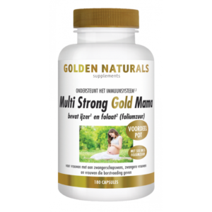 Golden Naturals Multi Strong Gold Mama 180 capsules