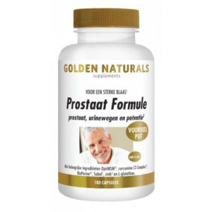 Golden Naturals Prostaat Formule 180 capsules
