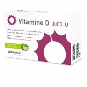 Metagenics Vitamine D 3000 IU 168 kauwtabletten