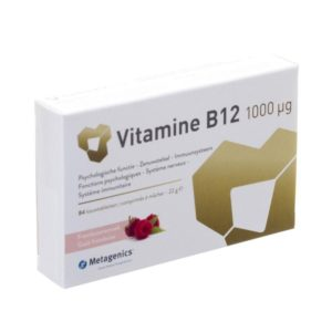 Metagenics Vitamine B12 1000 µg 84 kauwtabletten
