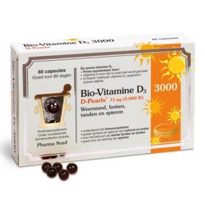 Pharma Nord Bio-Vitamine D3 D-Pearls 75 µg 80 capsules