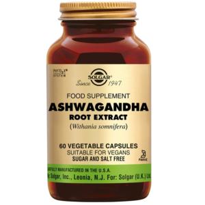 Solgar Ashwagandha Root Extract plantaardige capsules (60 caps)