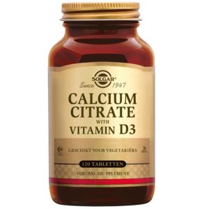 Solgar Calcium Citrate with Vitamin D-3 tabletten