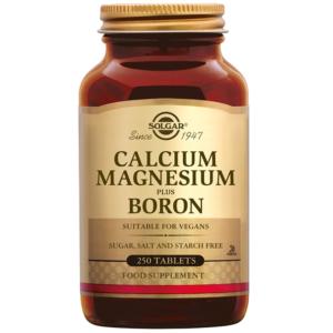 Solgar Calcium Magnesium plus Boron tabletten