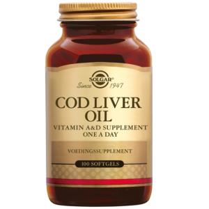 Solgar Cod Liver Oil Levertraan softgels