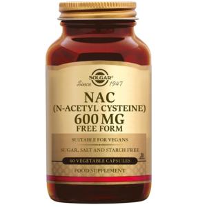 Solgar NAC 600 mg plantaardige capsules